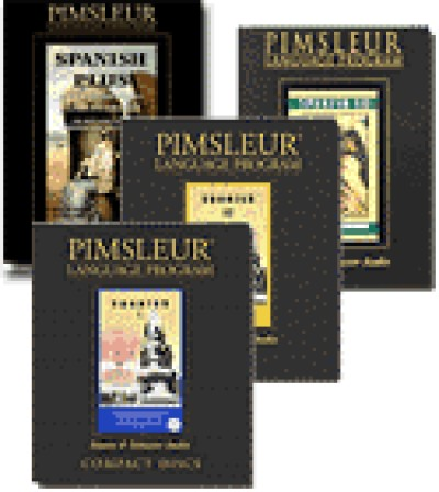 Pimsleur Spanish CD Superpack (Level 1-3, and Spanish Plus, and Collins CD_ROM)