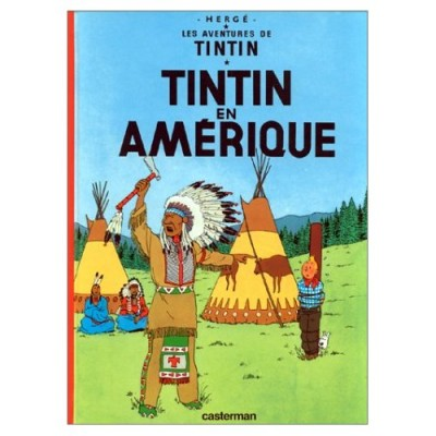 Tintin en Amerique (French Edition) (Hardcover) Vol. 3