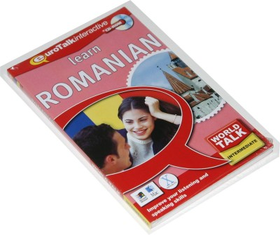 Talk Now Learn Romanian Intermediate Level 2 (World Talk)