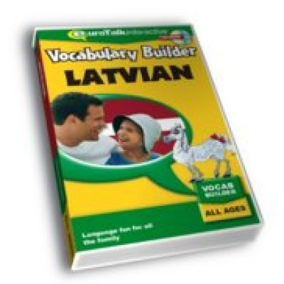 Talk Now Vocabulary Builder - Latvian