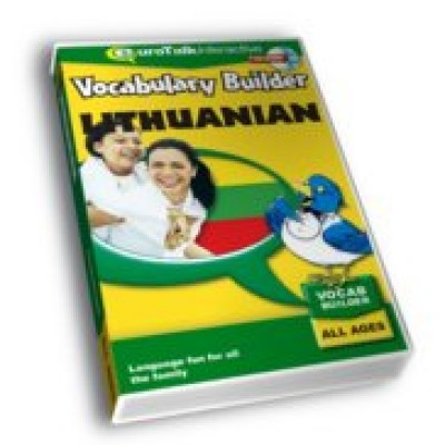Talk Now Vocabulary Builder Lithuanian