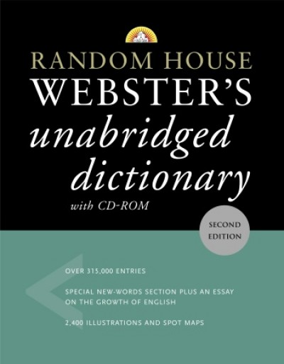 Random House - Webster's Unabridged Dictionary (with CD-ROM)