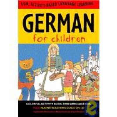 German for Children - (Paperback and Audio Cd's) [BOX SET]