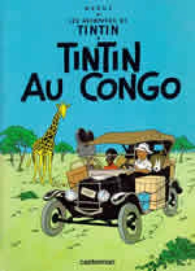 Tintin au Congo (Tintin in the Congo) - in French Vol. 2