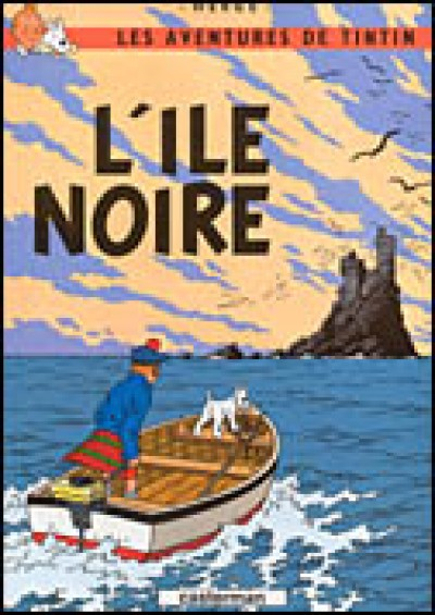 Les Aventures de Tintin: L'Ile Noire (French Edition of The Black Island) (Hardcover) Vol. 7