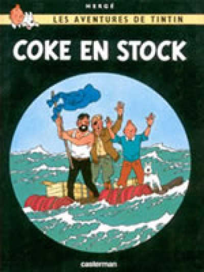Tintin - Coke en stock (The Red Sea Sharks) in French Vol. 19