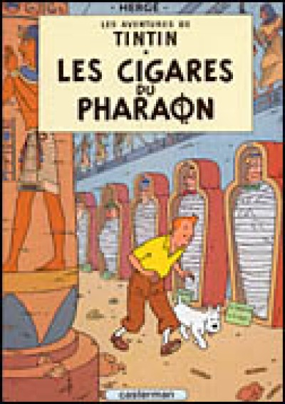 Tintin - Cigares du Pharaon, Les in French Vol. 4