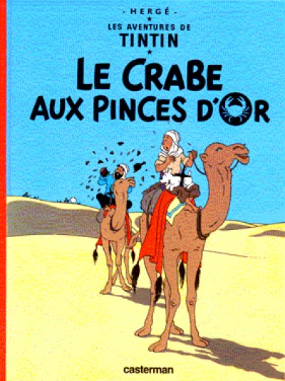 Tintin - Tintin Le crabe aux pinces d'or in French Vol. 9