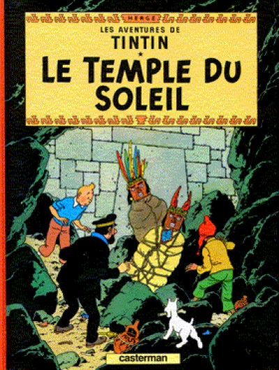 Tintin - Tintin Le temple du soleil - French Vol. 14