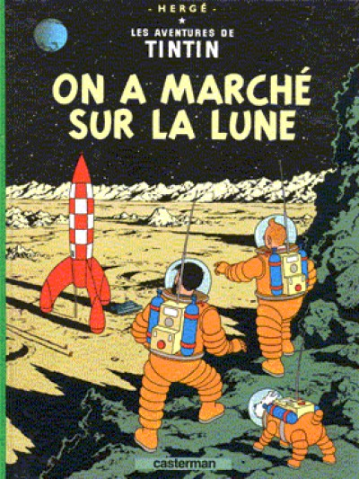 Tintin - Tintin On a marché sur la lune - French Vol. 17