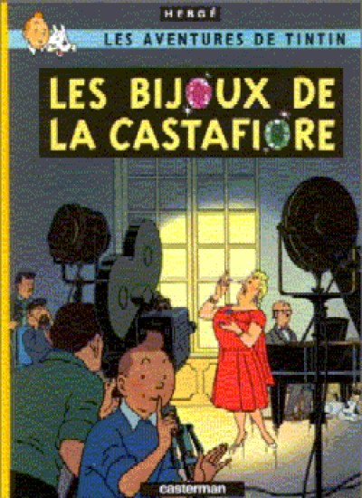 Tintin - Les Bijoux de la Castafiore in French Vol. 21
