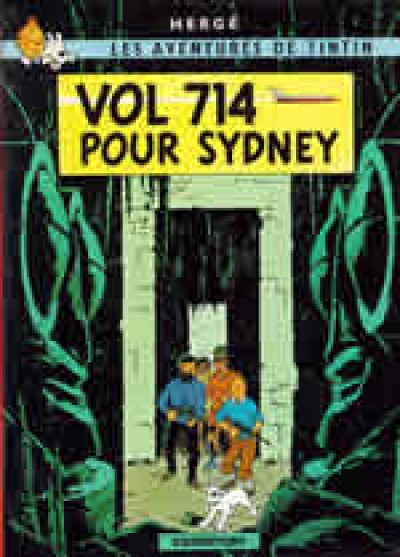Tintin - Vol 714 pour Sydney - French Vol. 22