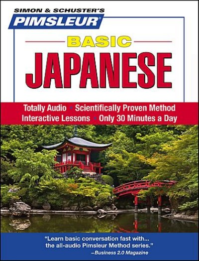 Pimsleur Basic Japanese (Audio CDs)