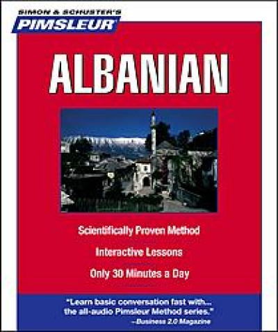 Pimsleur Albanian Compact (5 audio CD's / 10 lessons)