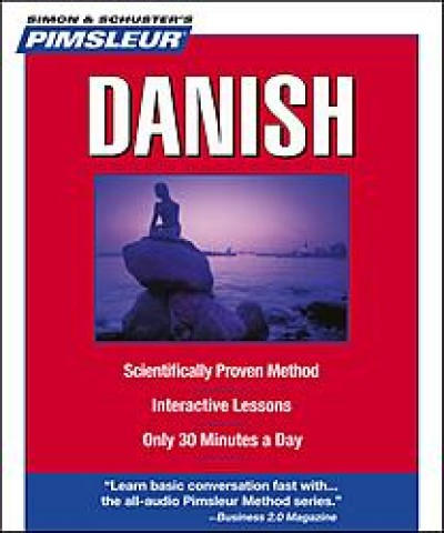 Pimsleur Danish Compact (5 audio CD's / 10 lessons)