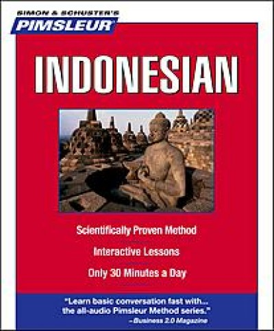 Pimsleur Indonesian Compact (5 audio CD's / 10 lessons)