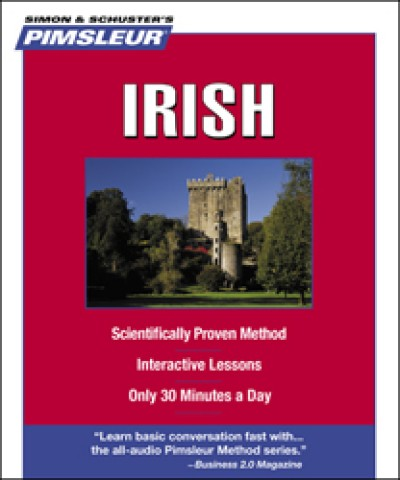 Pimsleur Irish Compact (5 audio CD's / 10 lessons)