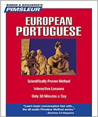 Pimsleur Portuguese (European) Compact (5 audio CD's / 10 lessons)