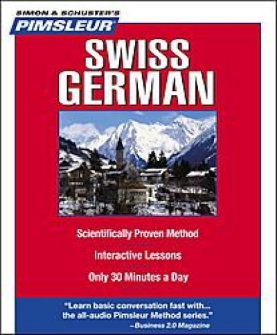 Pimsleur Swiss German Compact (5 audio CD's / 10 lessons)