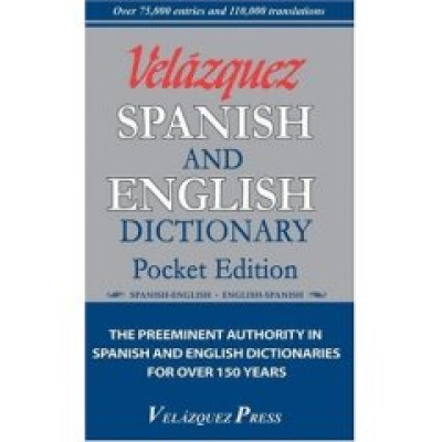 Velazquez Spanish and English Pocket Dictionary