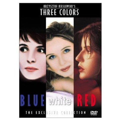 Three Colors Trilogy (Blue/White/Red) - Polish DVD