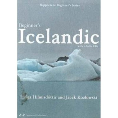 Hippocrene: Beginner's Icelandic with 2 Audio CDs and Book