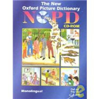 The New Oxford Picture Dictionary CD-ROM; Monolingual Edition (single user licence): Monolingual