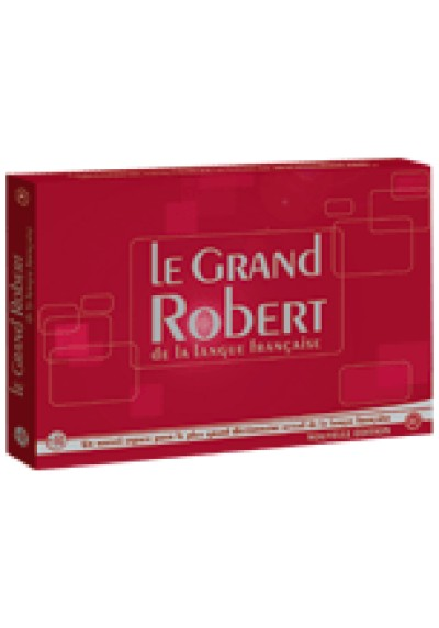 French - Le Grand Robert 9 volumes (Hybrid)