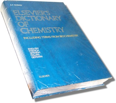 Elsevier Dictionary of Chemistry (Book) by A.F.Dorian