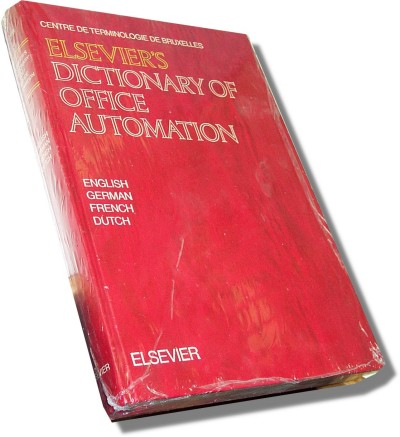 Elsevier Dictionary of Office Automation (Book)