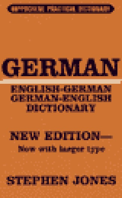 Hippocrene German - German/English Practical Dictionary (400 pages)