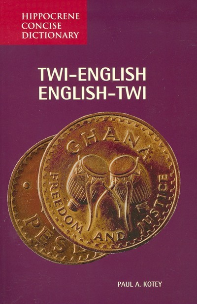Twi-English/English-Twi Concise Dictionary (Hippocrene Concise Dictionary) [Paperback]