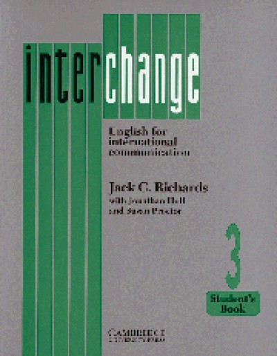 ESL - Interchange - English for Intl.Communication Level 3 Student Book