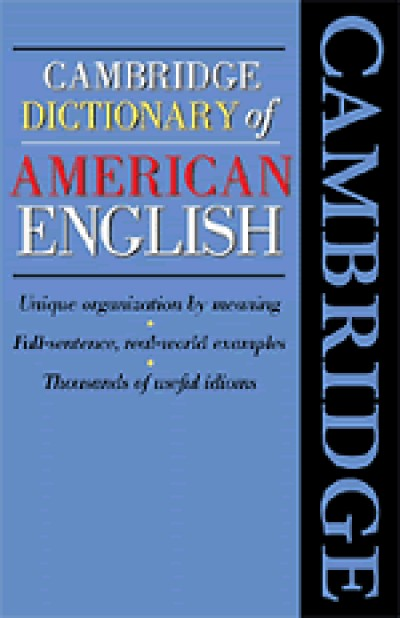 Cambridge Complete Dictionary of American English for Learners of ESL