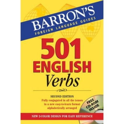 Barron's Language 501 French Verbs Book + CD-ROM 6th Edition