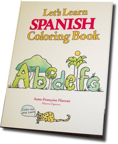 Let's Learn Spanish Coloring Books (Book only)