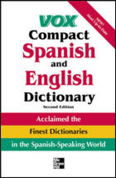 VOX Compact Spanish & English Dictionary (Vinly cover) 3th edition