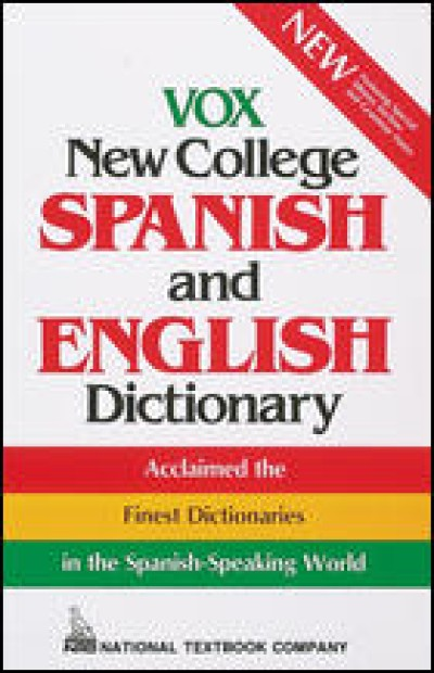 VOX New College Spanish & English Dictictionary
