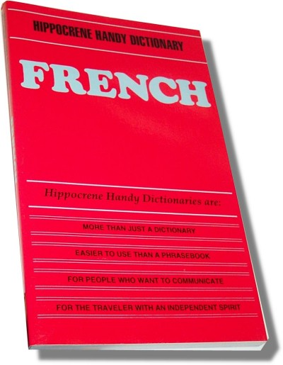French (Hippocrene Handy Dictionaries) (Paperback)