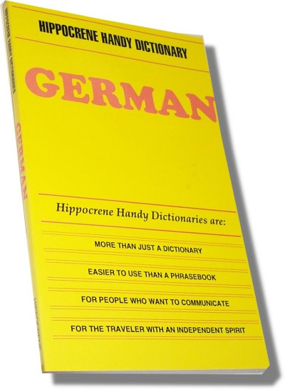 Hippocrene Handy German Dictionary Dictionary (120 pages)