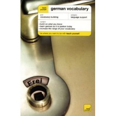 NTC - Teach Yourself German Vocabulary Course (Paperback)