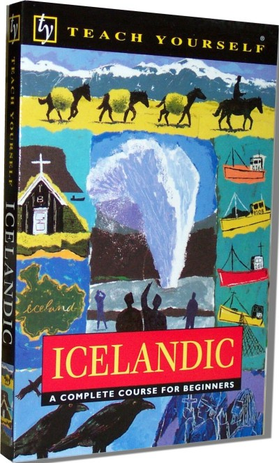 NTC - Teach Yourself Icelandic Complete Course (190 page. book only)