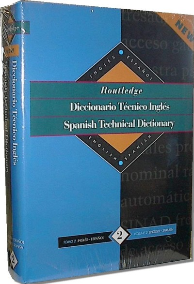 Routledge Spanish/English Technical Dictionary Vol. 2