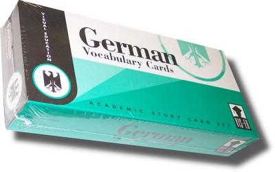 Vocabulary Flashcards (1,000 cards) German