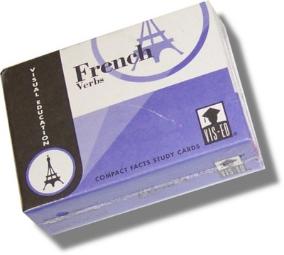 Vocabulary Flashcards (60 cards) French Verbs