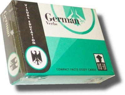 Vocabulary Flashcards (60 cards) German Verbs