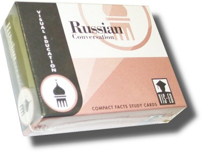 Vocabulary Flashcards (60 cards) Russian Conversation