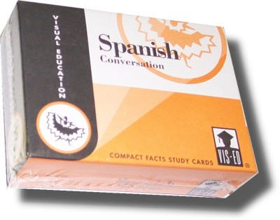 Vocabulary Flashcards (60 cards) Spanish Conversation