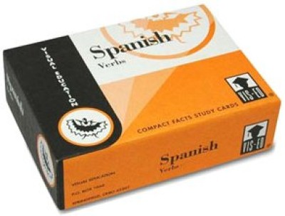 Vocabulary Flashcards (60 cards) Spanish Verbs