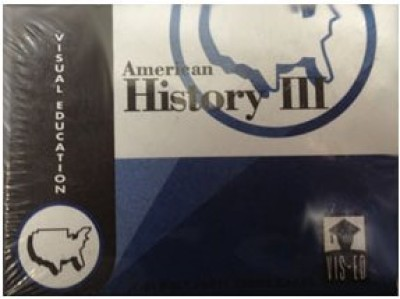 Vocabulary Flashcards (60 cards) American History III